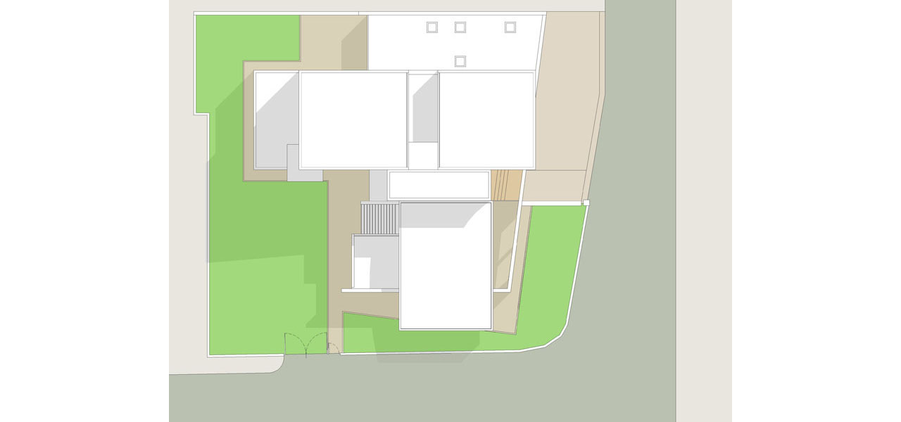 Casa M10 Planimetria generale del complesso di residenze.