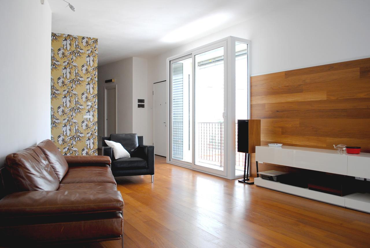018-CasaM10-Soggiorno-Boiserie-Carta-da-parati   AP+a Studio ...