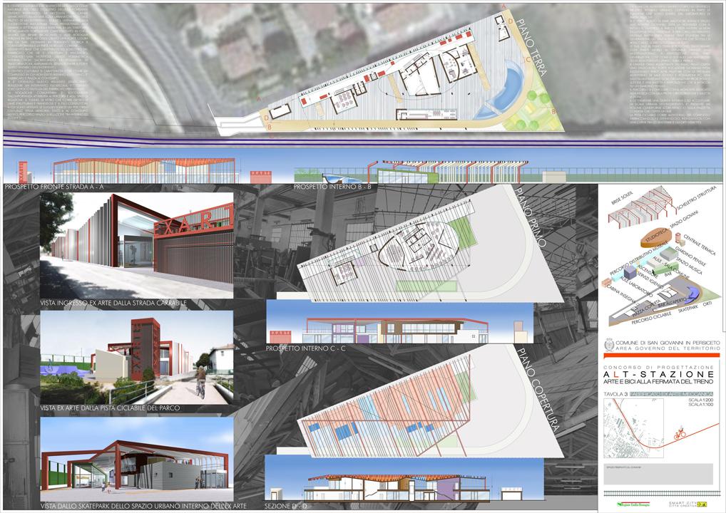 Tavole concorso alt stazione ap a studio architetti - Tavole di concorso architettura ...