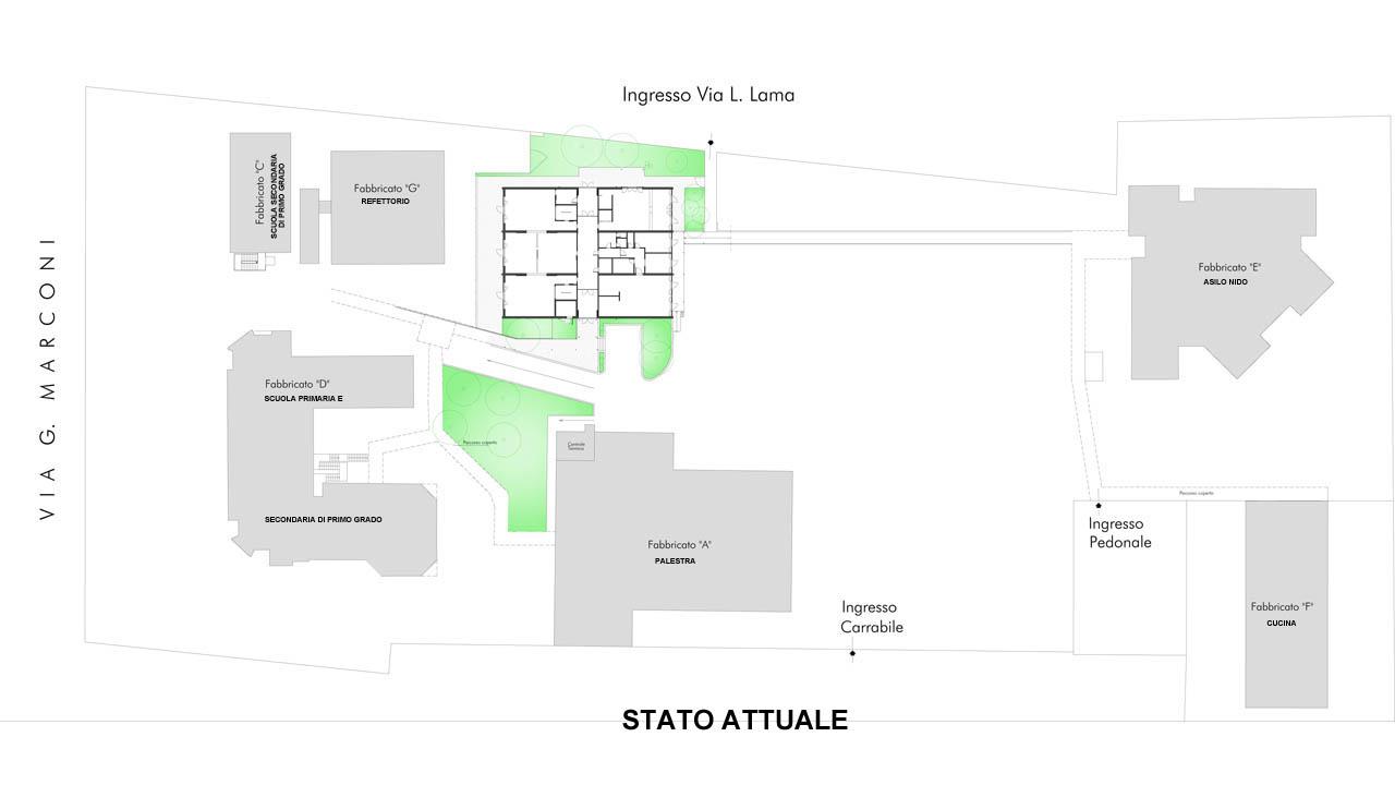 Bentivoglio-Materna Polo scolastico_1 STATO ATTUALE