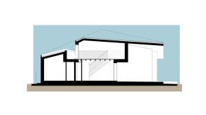 Casa Bi-Sezione longitudinale