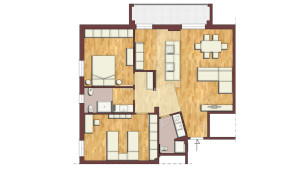 Casa F14 - Pianta Progetto