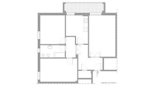 Casa F14 - Pianta Rilievo