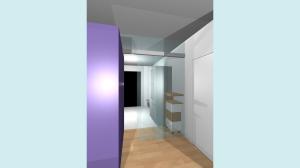 Casa P13-Render di studio Cucina2