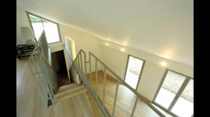 CasaBi-Vista del soggiorno dall'alto