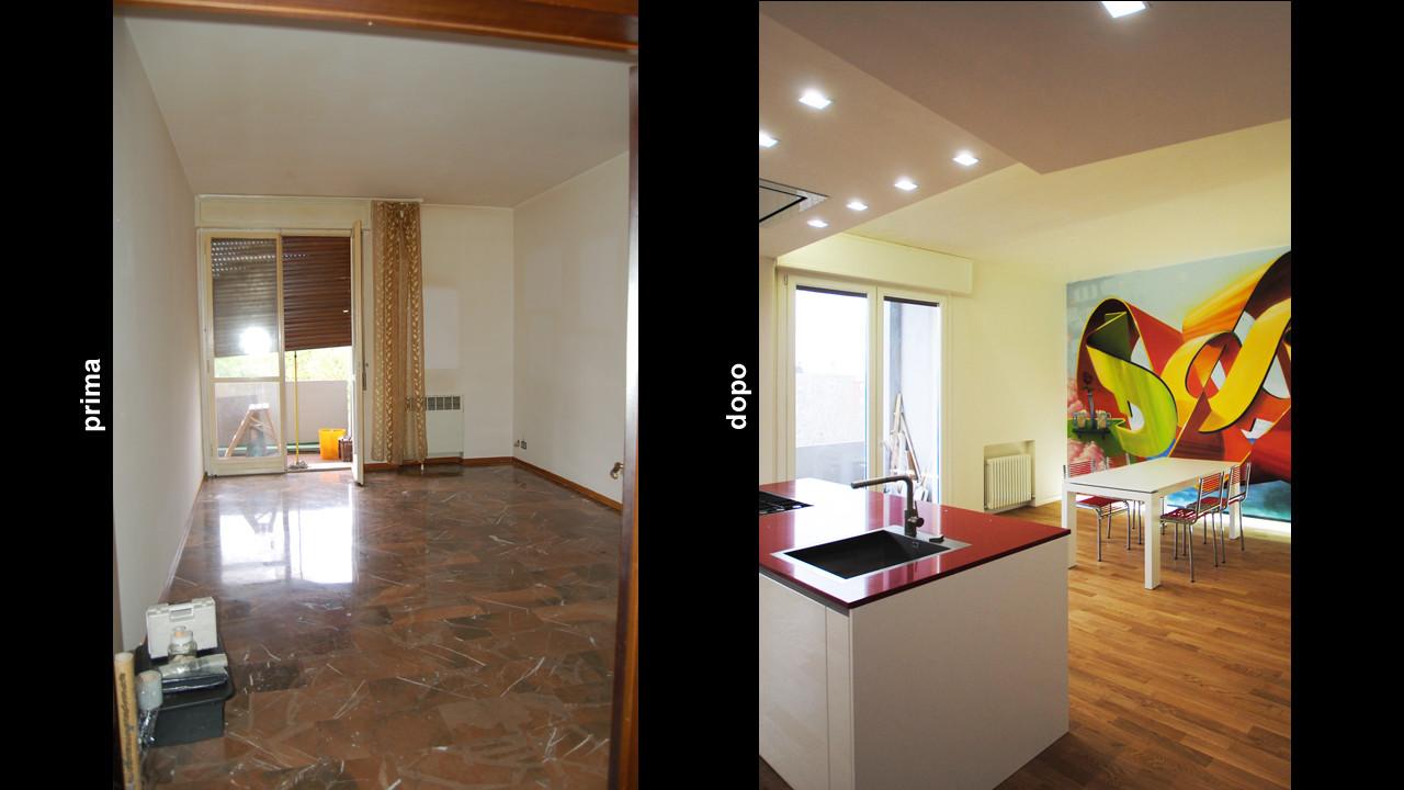 Casa f14 trasformazione ap a studio architetti associati for Immagini case ristrutturate
