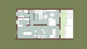 Casa B04 Pianta piano terra
