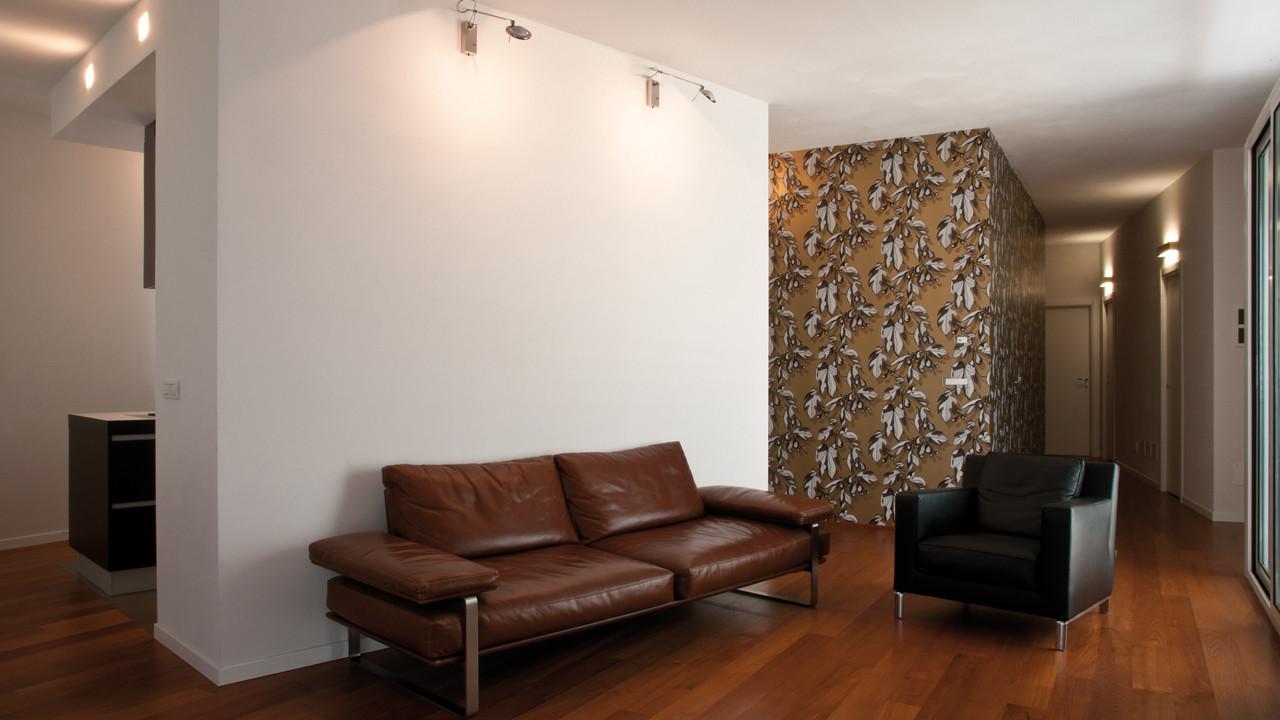 Casa M10 Foto della zona soggiorno dell