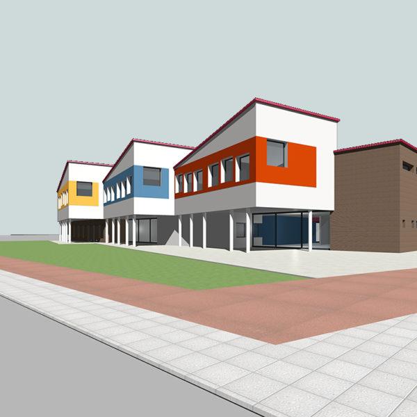 Bentivoglio: Progetto preliminare Scuola Media